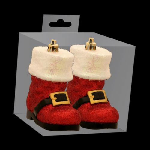 Santa Boots Baubles Christmas Tree Decorations